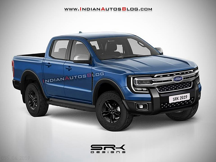 All-new Ford Ranger 2020