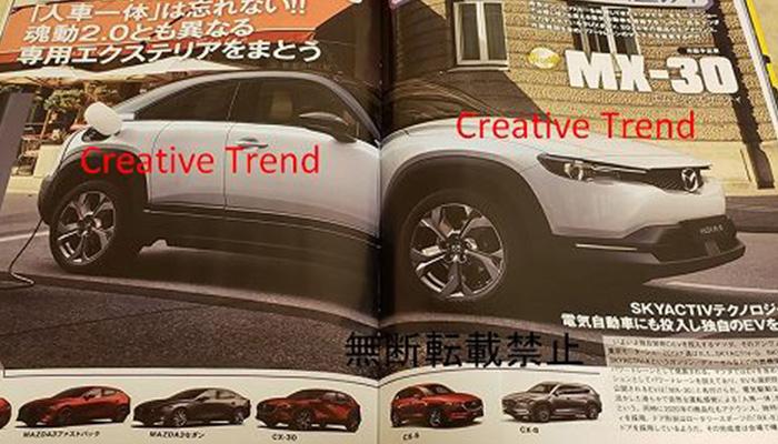 All-new Mazda MX-30 2020