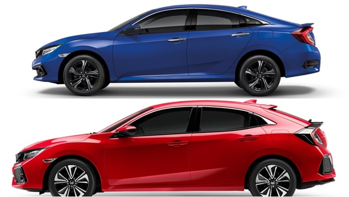 Honda Civic 2020 ราคาและตารางผ่อน