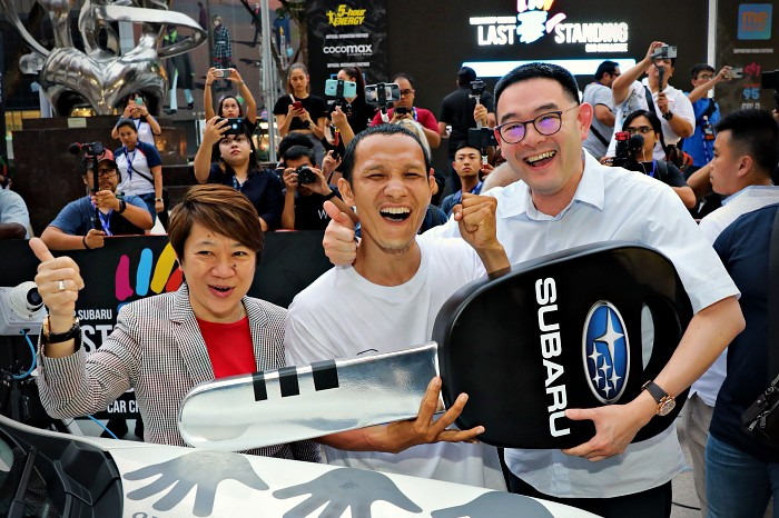 The Last Palm Standing - Mediacorp Subaru Car Challenge 2019