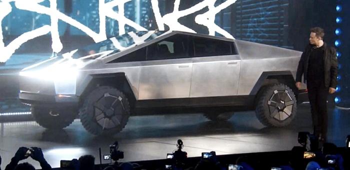 กระบะไฟฟ้า Tesla