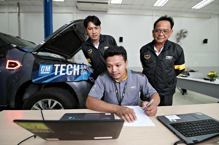 เชฟโรเลต ประเทศไทย แข่งขันวัดทักษะพนักงาน