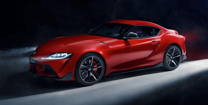 All-new Toyota Supra GR Sport 2020