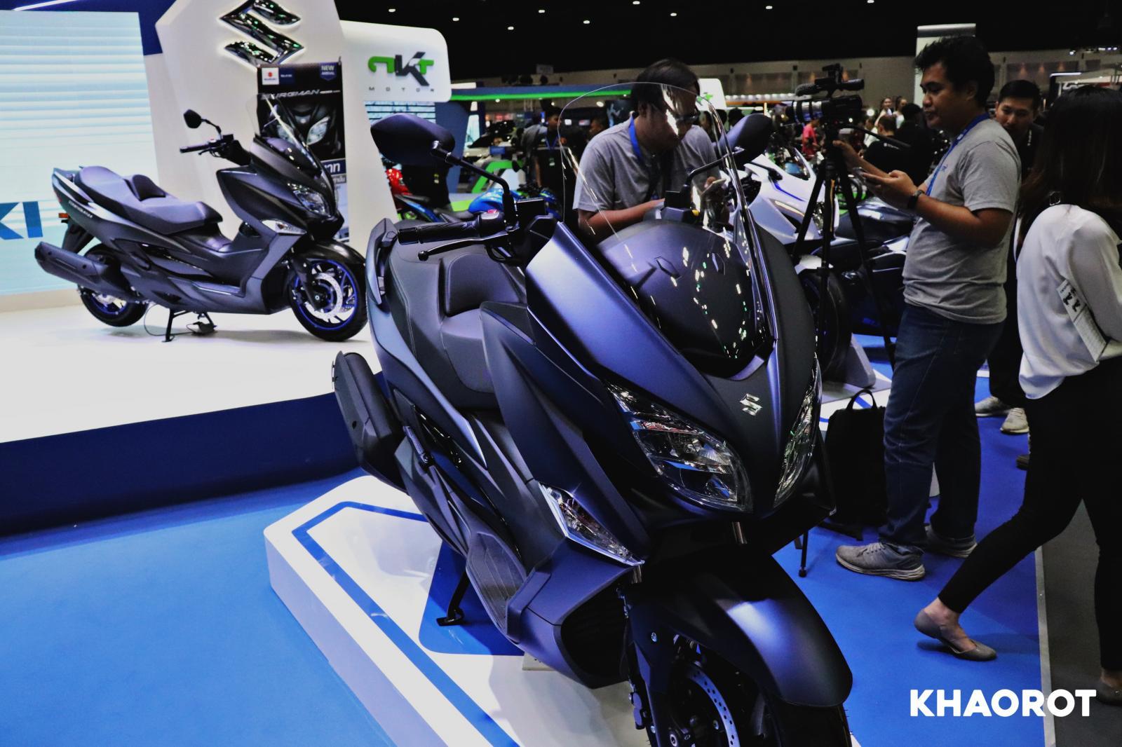2020 Suzuki Burgman 400
