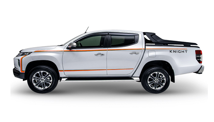 Mitsubishi Triton 2020 Knight Edition