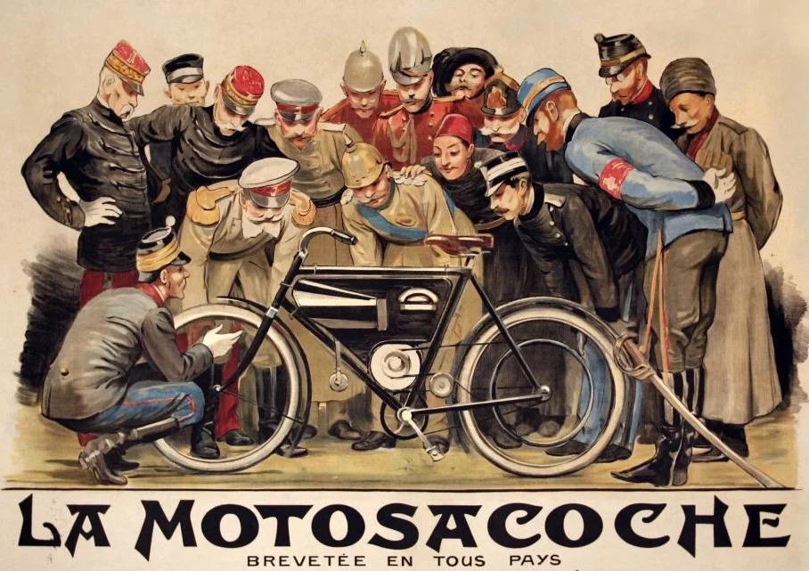 รถจักรยานยนต์ Husqvarna