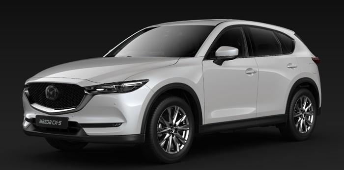 Mazda CX-5 2020 กับ Mazda CX-8 2020