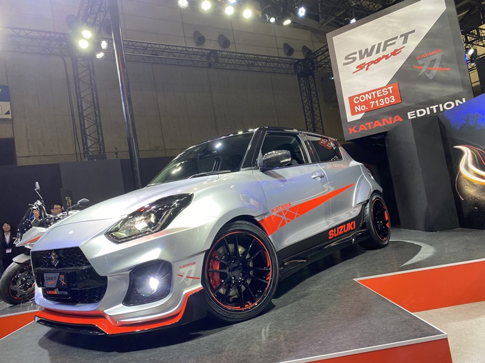 Suzuki Swift 2020 Sport Katana II Edition