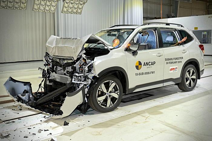 Subaru Forester EURO NCAP 2019