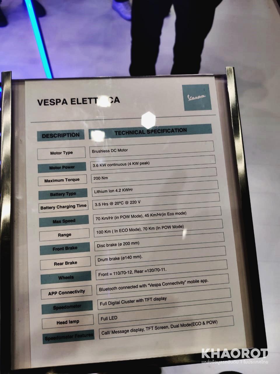 Vespa Elettrica