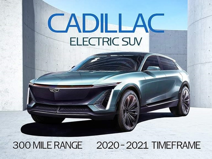 Cadillac EV 2020
