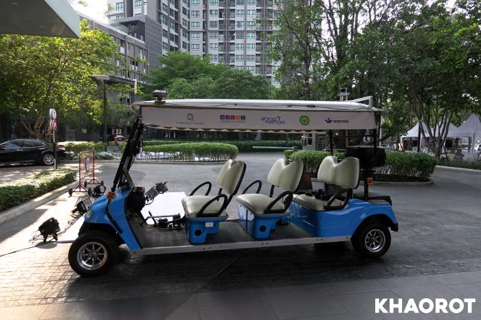 รถยนต์ไร้คนขับของไทย