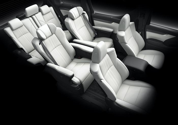 ภายใน Lexus LM 2020 ขนาด 7ที่นั่ง