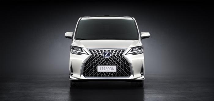 Lexus LM 2020 สีWhite Pearl Crystal Shine