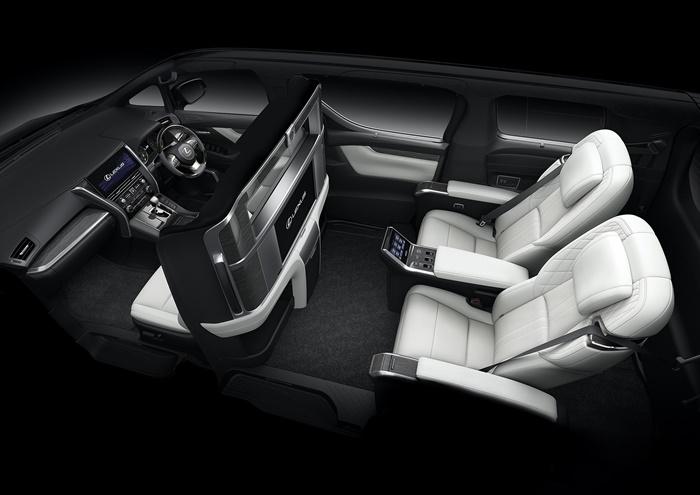 ภายใน Lexus LM 2020 ขนาด 4 ที่นั่ง