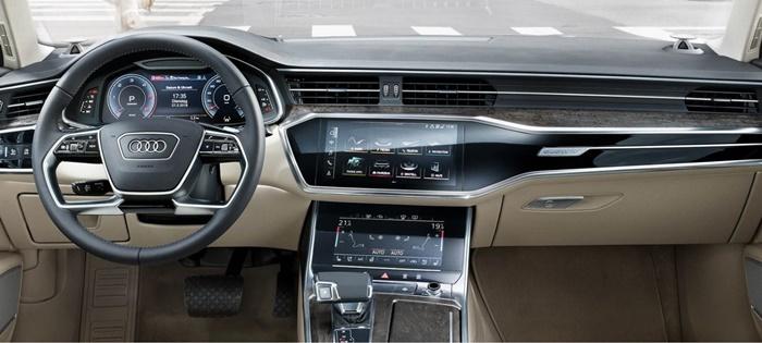 ภายใน Audi A6 40 TFSI S line (sedan)