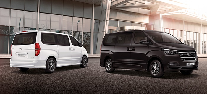 Hyundai Grand Starex ใช้เครื่องยนต์ 2.5 ลิตร 175 แรงม้า