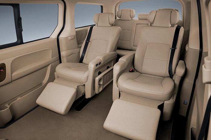 Hyundai Grand Starex มีขนาด 7 ที่นั่ง เริ่มต้น 2.349 ล้านบาท
