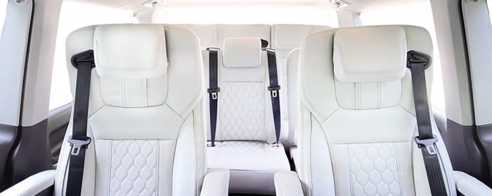 ภายใน Volkswagen Caravelle