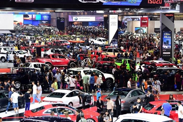 ยอดขายรถกุมภาพันธ์ 63 ทรุดลง17.1%
