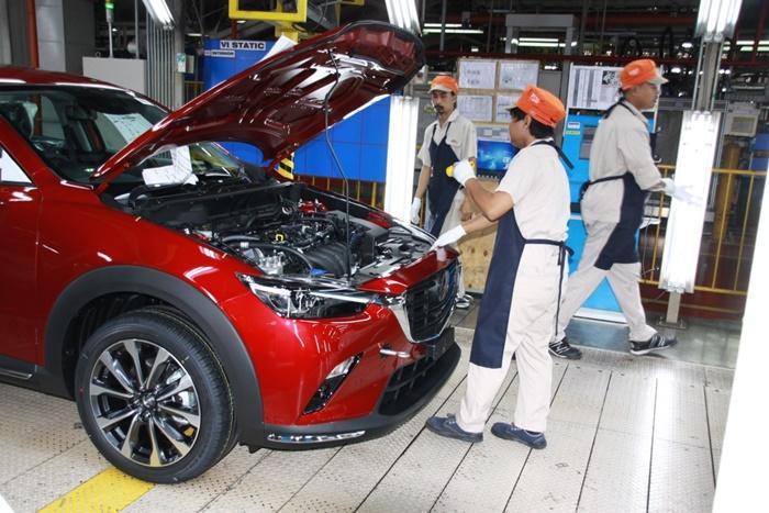 Mazda ปิดโรงงานการผลิตในไทย