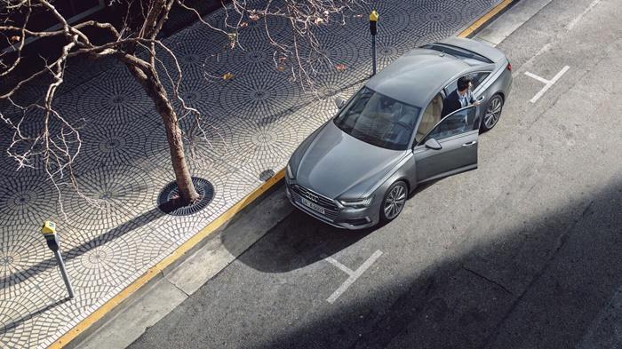 Audi A6ให้อุปกรณ์ความปลอดภัยมาครบครันตามมาตรฐานสากล