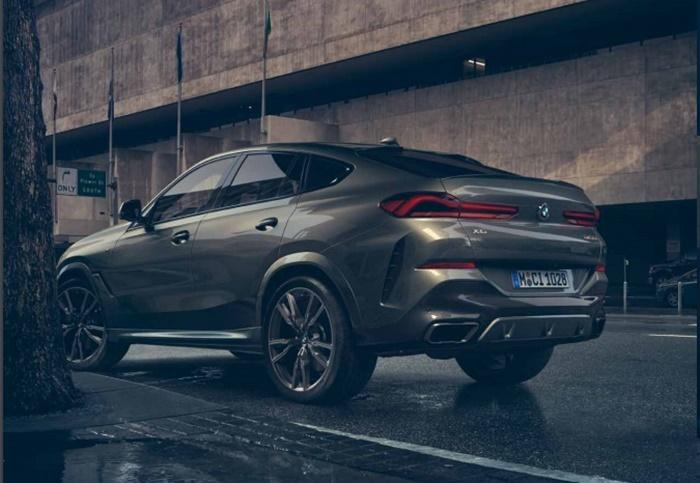 BMW X6 ให้อุปกรณ์ความปลอดภัยมาอย่างสะดวกครบครัน