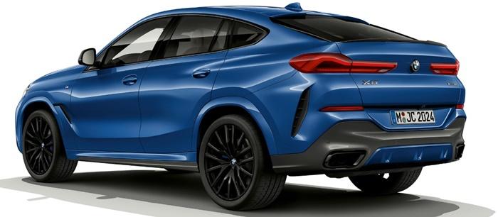 ด้านหลัง BMW X6