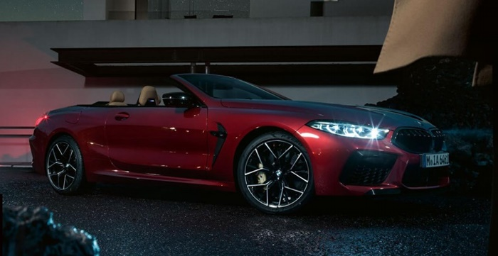 BMW M8 Competition Coupe ราคา 17,999,000 บาท