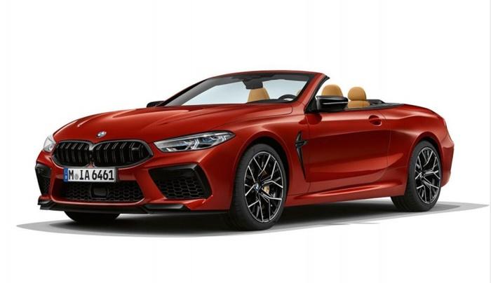 ด้านหน้า BMW M8 Competition Coupe