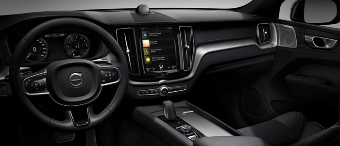 ภายในของ Volvo XC60 T8 Polestar Engineered