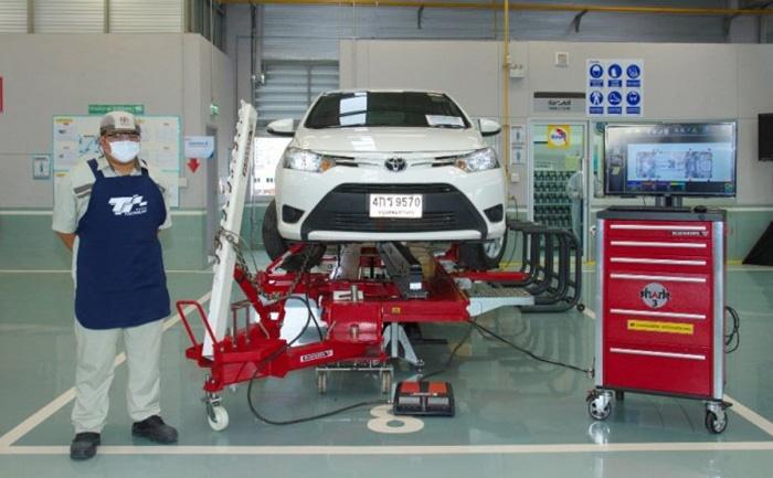 ศูนย์ Toyota บริการฆ่าเชื้อโควิด-19 ฟรี