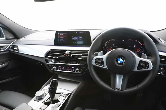 ภายใน BMW 630i GT M Sport
