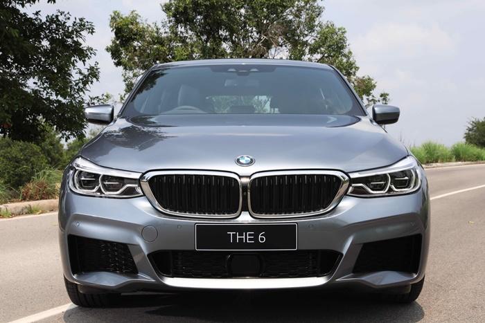 ด้านหน้า BMW 630i GTM Sport