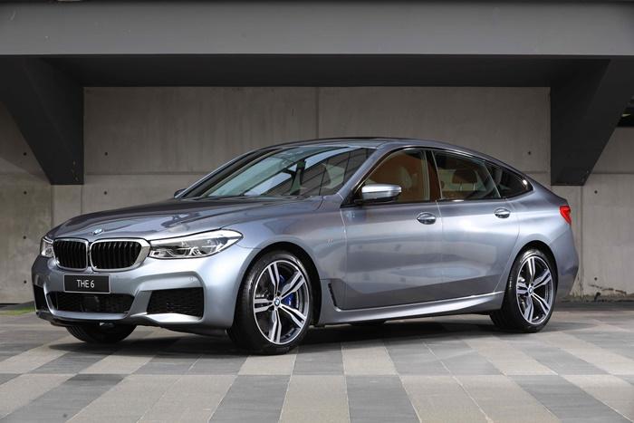 ด้านข้าง BMW 630i GTM Sport หรูหรา สง่างาม