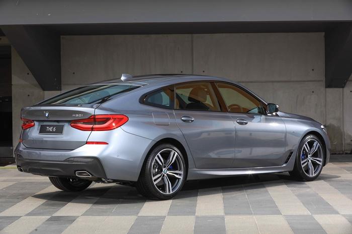 BMW 630i GT M Sport ให้ออปชั่นความปลอดภัมาจัดเต็มย