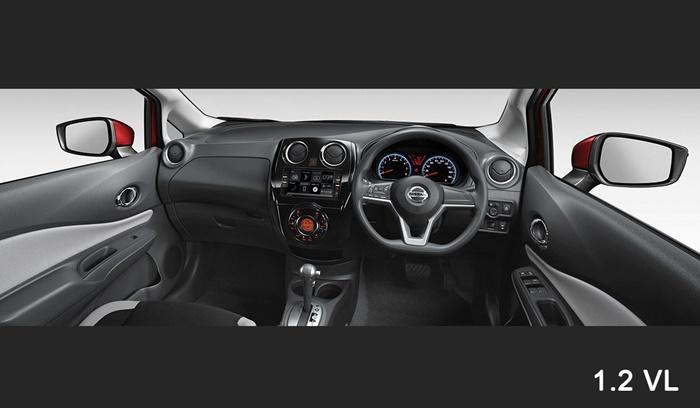 ภายใน Nissan Note 1.2 VL