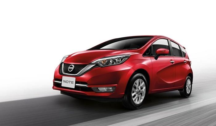 ดีไซน์ด้านหน้า Nissan Note