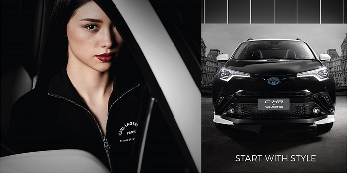 Toyota C-HR by Karl Lagerfeld