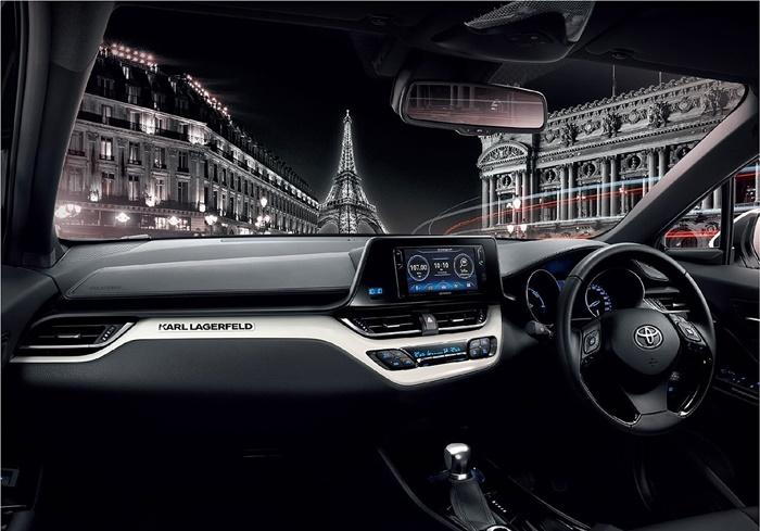 ภายใน Toyota C-HR by Karl Lagerfeld