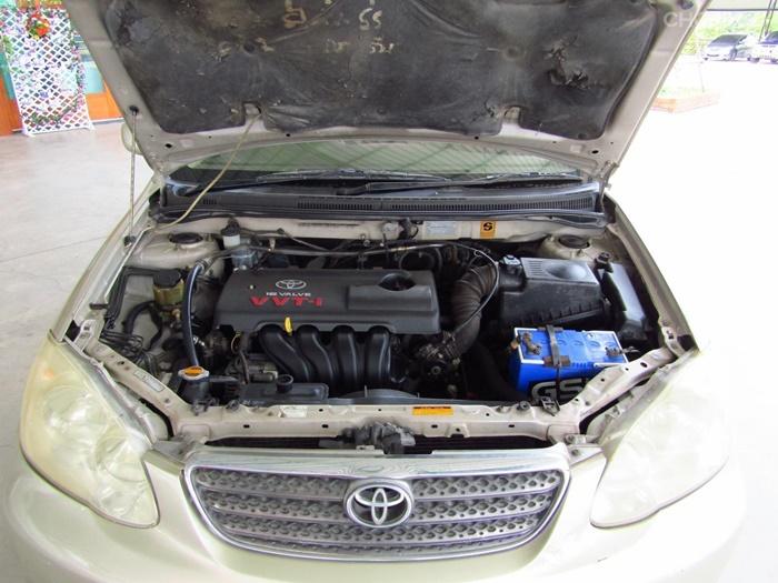 Toyota Altis 2005 มาพร้อมเครื่องยนต์ 2 รูปแบบ