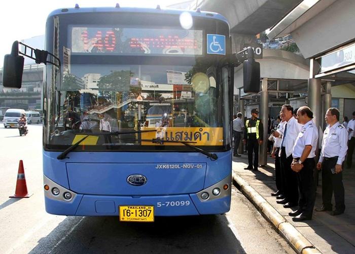 ขสมก.เสนอเปลี่ยนรถเมล์ร้อน เป็นรถแอร์