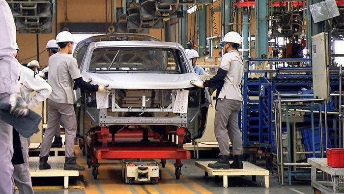 ยอดการผลิตรถยนต์ในมีนาคม 2563 อยู่ที่ 146,812 คัน ลดลง 26.16%