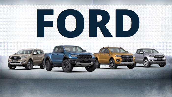 Ford มีรถยนต์จัดจำหน่ายทั้งหมด 4รุ่น