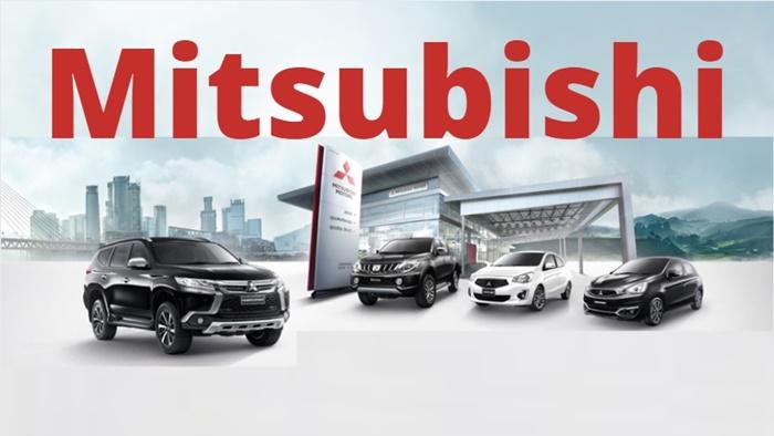 Mitsubishiมีการจัดจำหน่ายรถยนต์จำนวน 5 รุ่นหลัก