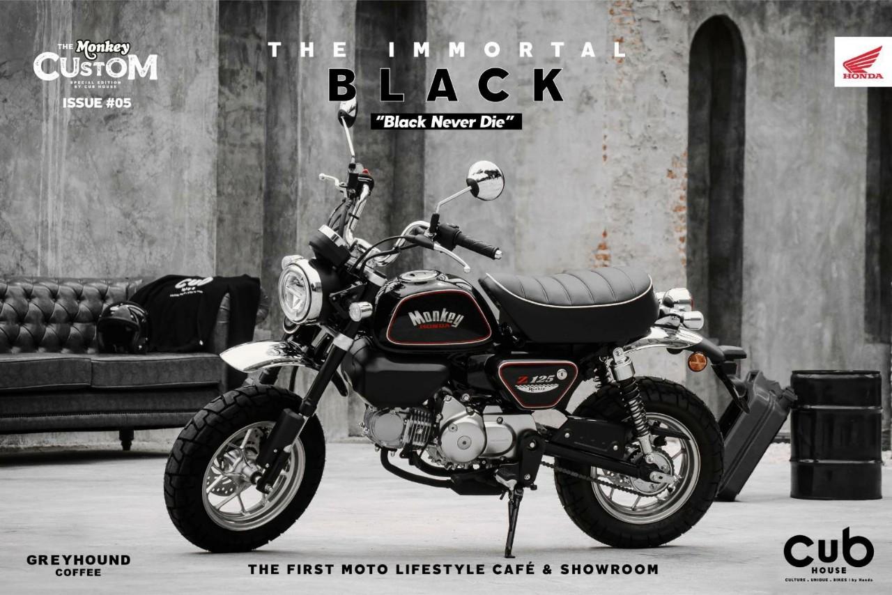 2020 Honda MonkeyThe Immortal Black Edition