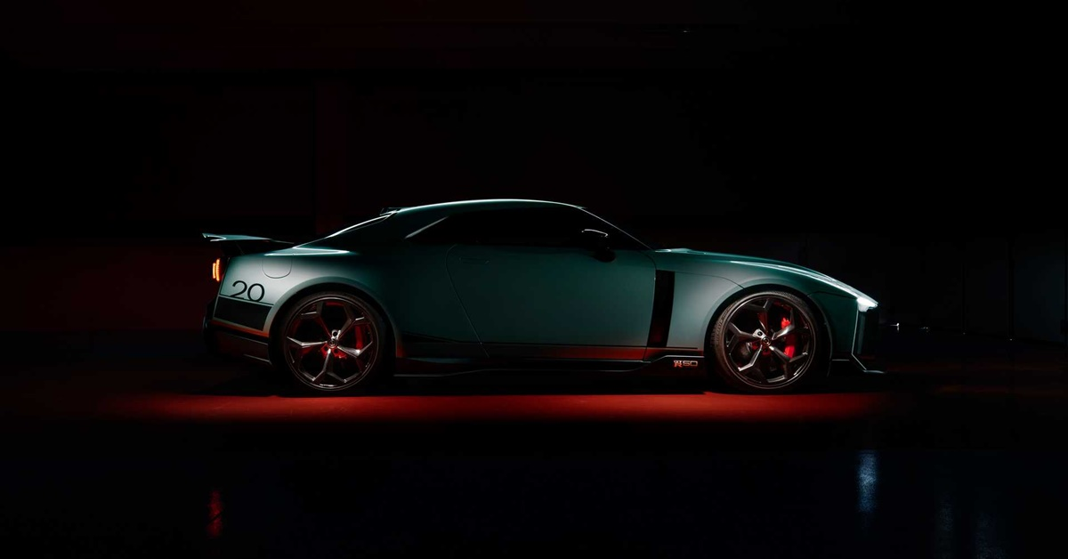 Nissan GT-R50 2020 Italdesign