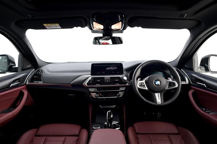 ภายใน BMW X4 xDrive20d M Sport X 2020