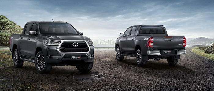 Toyota Hilux Revo 2020 รุ่นยกสูง (Pre-runner) และรุ่น 4x4