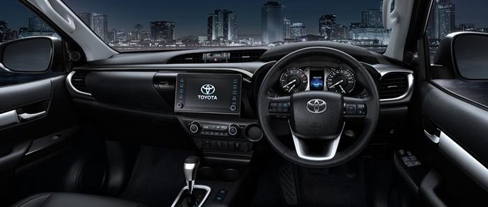 ภายใน Toyota Hilux Revo 2020